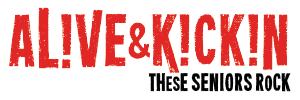 Alive and Kickin Logo