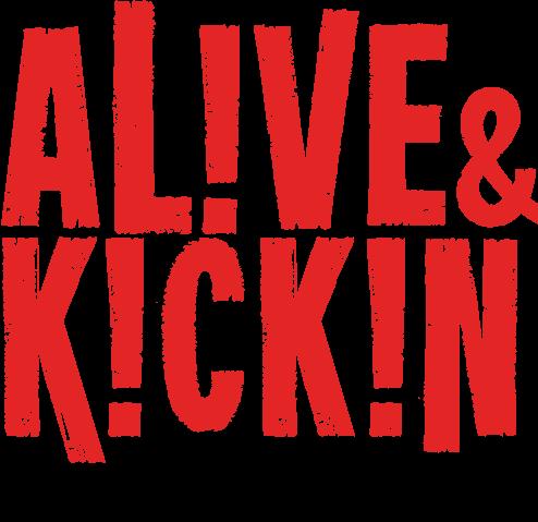 Alive & Kickin logo